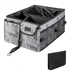 102088F Large Capacity Cargo Trunk Storage Organizer Car Trunk Organizer