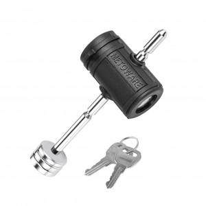 11401 1/4 Inch Adjustable Swivel Lock Head Trailer Tongue Coupler Lock