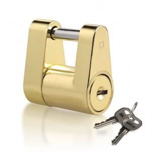11411 1/4 Inch Brass Plating Trailer Hitch Coupler Lock Pin