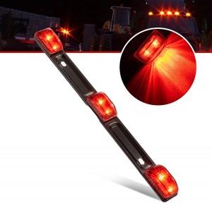 101222 12V LED Trailer Light Bar Light Tail Light Bar Waterproof Red Bar Light For Truck Trailer