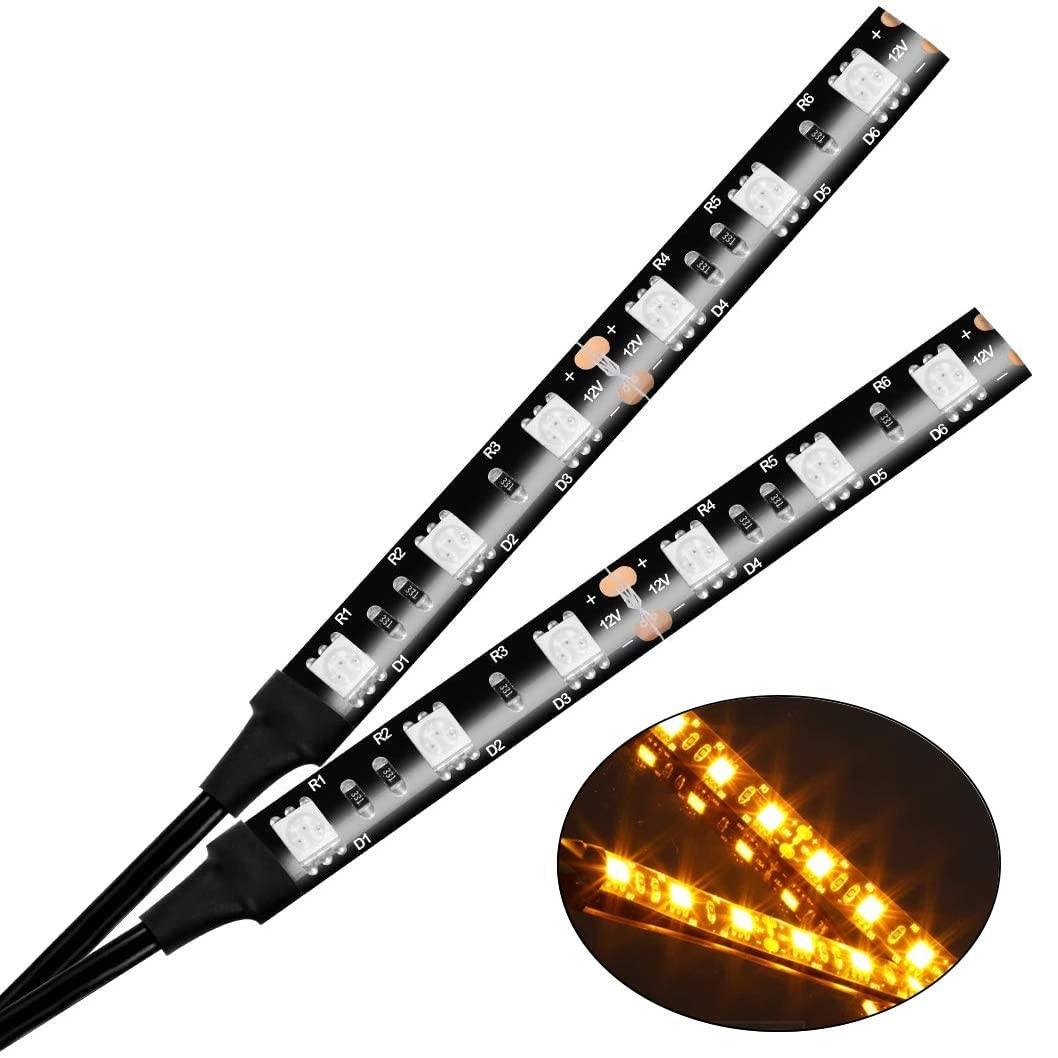 LED Amber Light Strip