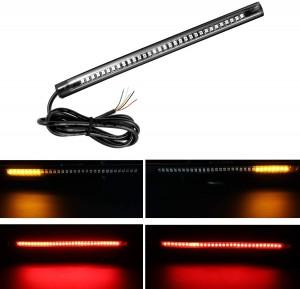 101209  Motorcycle Flexible  32 LED Tail Light Strip License Plate Light Bar