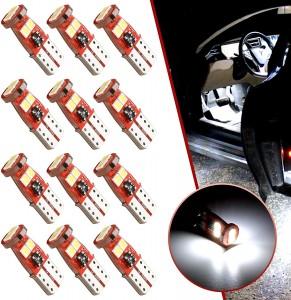 101229 194 LED Bulb 168 2825 W5W T10 Wedge Led Light bulb License Plate Light lamp