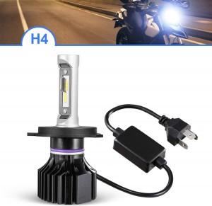 101219 H4 9003 HB2 High Beam Low Beam Motocycle LED Headlight Bulb