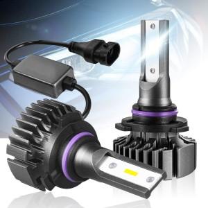101215 Bright White 9005 HB3 LED Headlight Bulbs High Beam 2 Pack