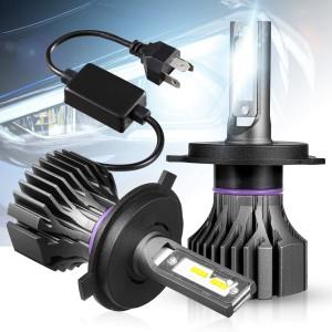 101216 Waterproof H4 9003 HB2 LED Headlight Bulbs kit