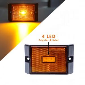101001 12V Submersible LED Trailer Tail Light Kit for Under 80 Inch