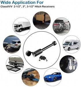 11212 Heavy Duty Trailer Hitch Receiver Pin Lock 5/8 Extra Long