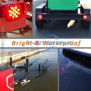 101001E 12V DOT Submersible Trailer tail Light Kit