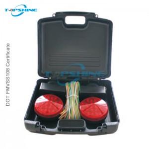 101018C 12V Led Trailer Magnetic Towing Light Kit With Plastic Box